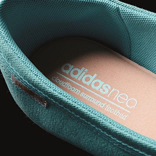adidas Cloudfoam Neolina W, Ballerines Femme Vert