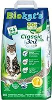 Biokat's Classic Fresh 3in1 Katzenstreu mit Frühlingsduft – Hochwertige Klumpstreu für Katzen mit 3 unterschiedlichen...