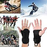 Demiawaking Tutore Polso Supporto per Polso della Mano Polsiera Protettore della Mano per Ciclismo,Corsa,Pattinaggio, Motocicletta Sport all'aperto (M)