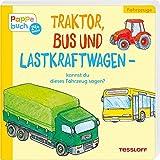 Traktor, Bus und Lastkraftwagen: Ein Pappebuch mit lustigen Reimen (Bilderbuch ab 2 Jahre)