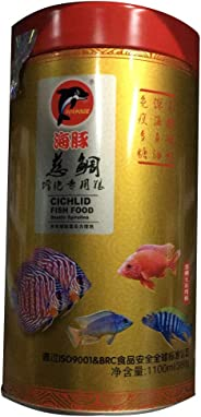 aquarium fish tank accessories fish food for cichlid 1100ml 380g