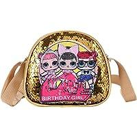 NA LOL Surprise Mädchen Handtasche für Kinder LOL Toys for Girls Crossbody Handtasche Pailletten Umhängetasche Mode…