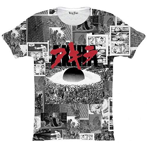 Veni Vici T-Shirt Akira Mehrfarbig