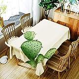 WDLZB Tischdecken Rechteckige Einfachen Stil Multi-Purpose Indoor Und Outdoor Wärme Und Feuchtigkeit Widerstand Multi-Purpose Tabelle Umfasst Kreative Topfpflanzen Muster, 140 × 280 cm