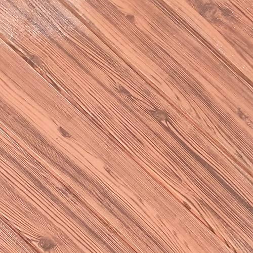 Preisvergleich Produktbild WPEOD Holz-Korn-Schaum-wandtattoo, Wasserdicht und Selbstklebende, Die Dekoration ist sehr perfekt und schön überall-J 70x70cm(28x28inch)