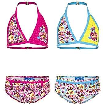 COSTUME MARE Piscina 2 pezzi Bikini DISNEY SOY LUNA Taglia 6 anni Colore