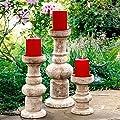 Säulen Elemento, 3er-Set von Gärtner Pötschke - Du und dein Garten