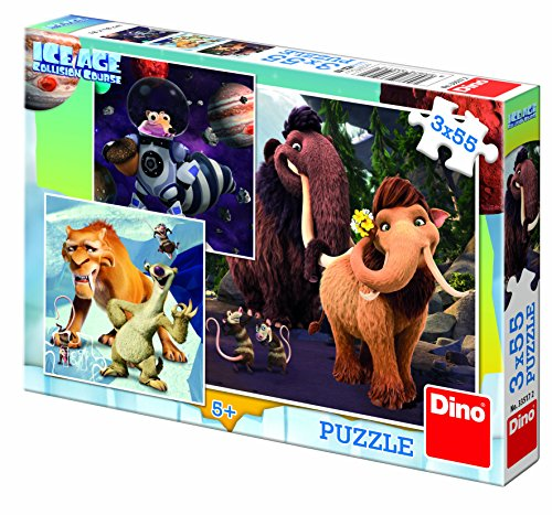 Dino Toys Dino toys335172Ice Age 5Selfie 3Puzzle 55(teilig) 3704500 (Age Ice Party Supplies)