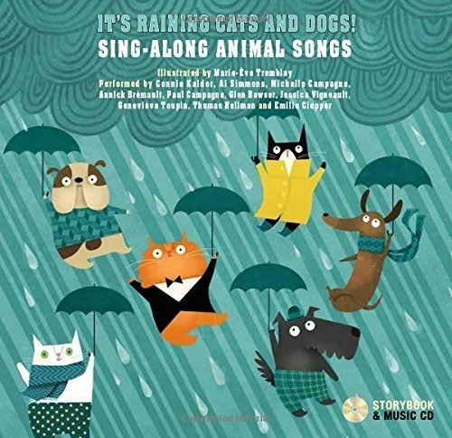 It's raining cats and dogs ! - Livre + CD