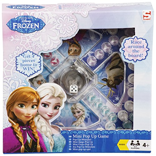 Official Disney Frozen Mini Pop Up Game Home/Travel (Like Frustration) *NEW* Listed & Sold by Get A Gift UK