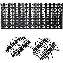 Metall Werkzeugwand, 46x98cm mit 44 Haken ✓ Eurolochung ✓ Solide verarbeitet ✓ Ohne scharfe Kante   Lochblech, Lochplatte mit Schlüssellochung   Werkzeug-Lochwand, Werkstatt-Wand als praktischer Werkzeughalter für Garage, Keller und Hobbyraum