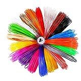 3D Pen Filament Nachfüllungen, LESHP 1.75mm PLA 5m Material 25 Farbe PLA 3D Drucker Filament für 3D Drucker Stift 3D Print Pen 3D Stift 3D Drucker