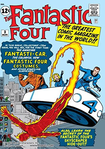 Fantastic Four (1961-1998) #3 (Fantastic Four (1961-1996)) (English Edition)