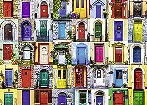 Rompecabezas Ravensburger Doors of The World 1000 Piezas para Adultos - Cada Pieza es única, tecnología Softclick Significa Que Las Piezas encajan Perfectamente Juntas