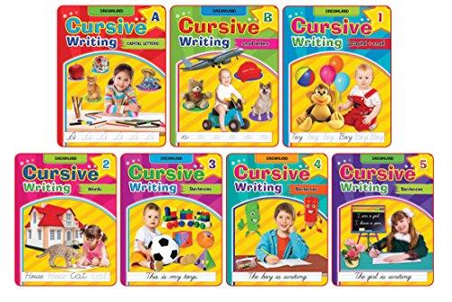 Cursive Writing Book (Set of 7 Books)