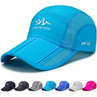 FADA Quick Dry Outdoor Baseball Cap Foldable Adjustable Fishing Running Cap Waterproof Sport Hat