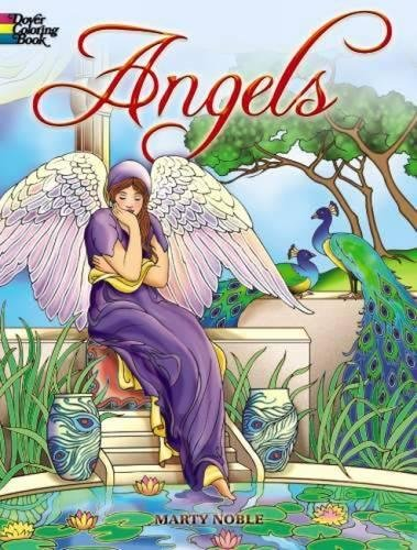 Angels Coloring Book (Dover Coloring Books)