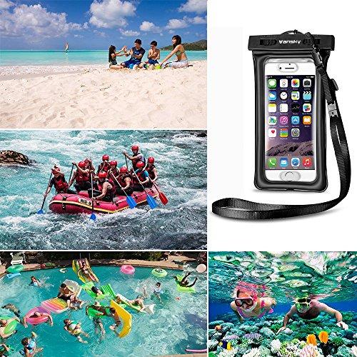 quality design 55ad2 ad761 2017 Upgraded Design] Vansky® Floatable Waterproof Phone Case Dry ...