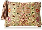 Antik Batik Damen Hudson Handtasche, Multicolore (Multico), 1x19x27 cm