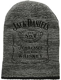 Jack Daniel Unisex Dark Logo Beanie Hat