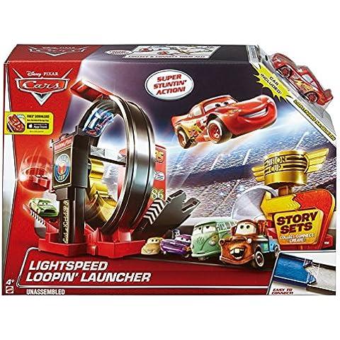 Cars - Coche, superlooping lanzador (Mattel DJC57)