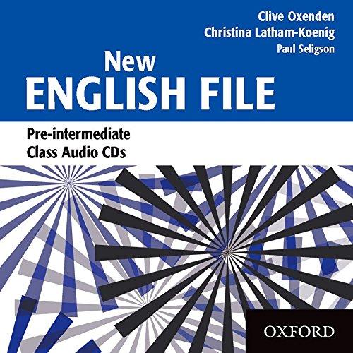 New English File Pre-Intermediate. Class CD (3): Class Audio CDs Pre-intermediate lev (New English File Second Edition)