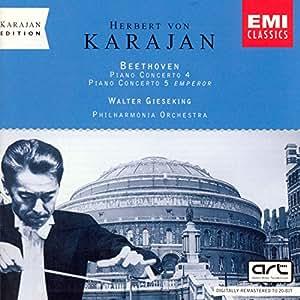 Karajan-Edition - The London Years (Beethoven: Klavierkonzerte 4 & 5)
