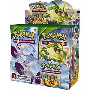 Pokémon - Jeux de Cartes - Boosters Français - Boite De 36 Boosters Xy - Ciel Rugissant