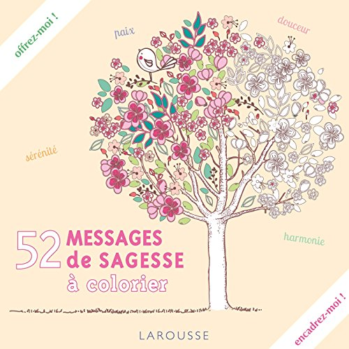 52 messages de sagesse à colorier