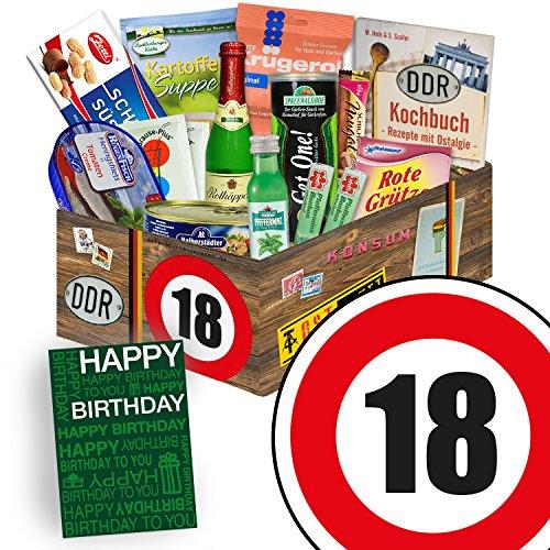DDR Box L | Zahl 18 | Geschenk Idee Oma | Spezialitäten Geschenk