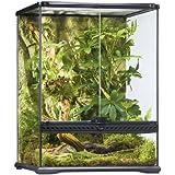 Exoterra Terrarium en Verre pour Reptiles et Amphibiens 45 x 45 x 60 cm