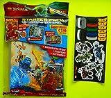 Ninjago Lego Serie 1 Trading Card Game Sammelmappe Mappe Sammelordner Ordner Movie Aufklebern