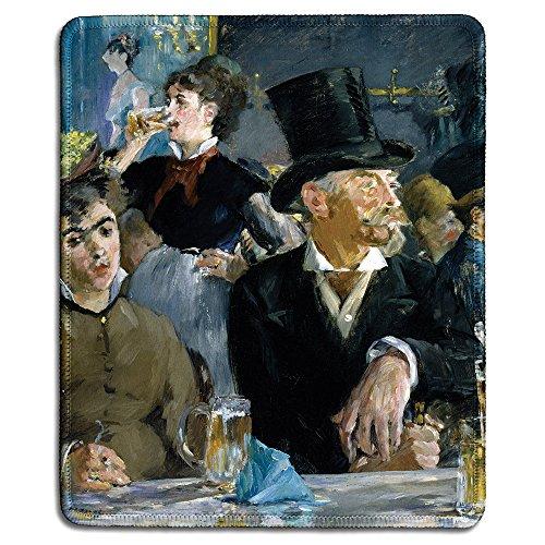Art Gummi Mauspad Serie mit berühmten Gemälde und Klassischen Bildern At the Café - Manet-serie