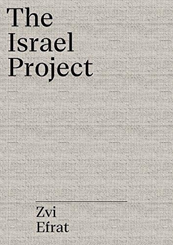 The object of zionism par Zvi Efrat