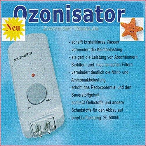 TAB Ozonisator ET-200 6Watt regelbar 50-200mg/h Für Süß-und Meerwasser -