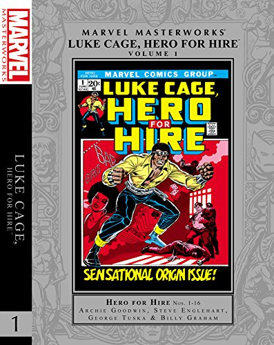 MMW LUKE CAGE HERO FOR HIRE HC 01 (Marvel Masterworks: Luke Cage)