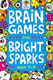 Best Books For Girls 8 Years - Brain Games for Bright Sparks: For Ages 7 Review