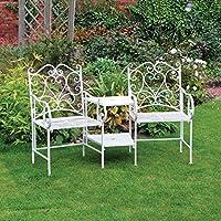 Quattro Stagioni Vintage fsvc6Canterbury Love seduta per sedia, colore: panna