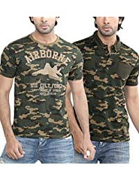 Difference Of Opinion Latest New Style Regular Fit Branded Stylish, Trendy Casual Crew Neck And Polo Neck/Half...
