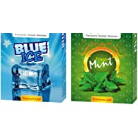 ASHDIM Set of Two (2) Blue Ice and Fresh Mint Hookah Flavour (Pack of 2)
