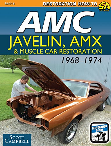 AMC Javelin, AMX, and Muscle Car Restoration 1968-1974 (Restoration How-to) (English Edition) (Javelin 1969)