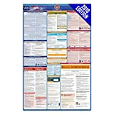 2018 Washington Arbeitsrechts Poster – State, federal, OSHA konform – laminiert Pflicht All in One Poster