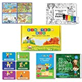 #8: Einstein Box for 4, 5 and 6 Year Old Baby Boys and Girls, Learning and Educational Gift Pack of Toys and Books (Multicolor)
