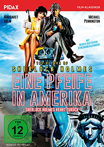 Sherlock Holmes: Eine Pfeife in Amerika (The Return of Sherlock Holmes)/Spannende Kriminalkomödie mit zwei deutschen Synchronfassungen (Pidax Film-Klassiker)