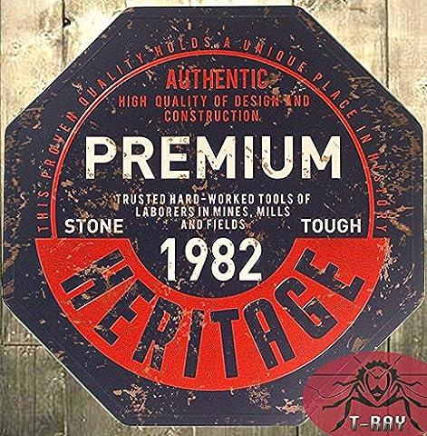Küche Wand Dekor Premium Heritage 1982 Metall Tin Sign Wall Sticker Home Decor für Party Dekoration A-10