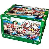 Brio World - 33052 - CIRCUIT DE CHEMIN DE FER DELUXE 70 PCES