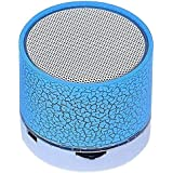 Captcha® H20 LED Portable Mini Bluetooth Dancing Light Wireless Stereo Speaker With TF USB FM & MIC Loud Speaker For IPhone X & LG G5, Mobile