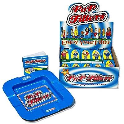 Pop Filters Filtro Classico (50 Blocchetti) + Posacenere Omaggio