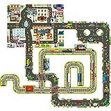 DYMAS Intellektuelles Spielzeug Kinder Puzzle-Stücke Track Boden Puzzle 3-6 Jahre Alten Jungen Spielzeug