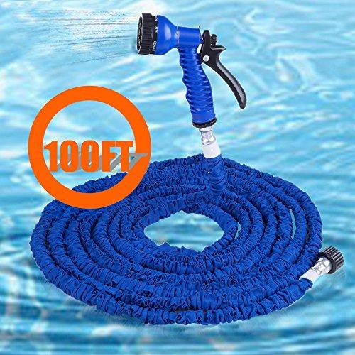 life-plus-100ft-7-modes-spray-gun-expandable-garden-hose-water-pipeblue